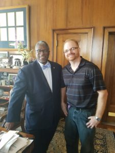 Nick Schale and Mayor Sly James - Video Production in Kansas City - Kansas City Airport Video